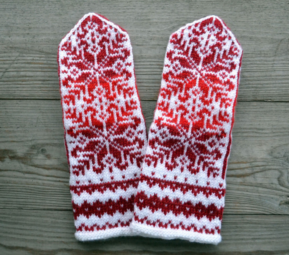 what to get mom for christmas hand knit mittens