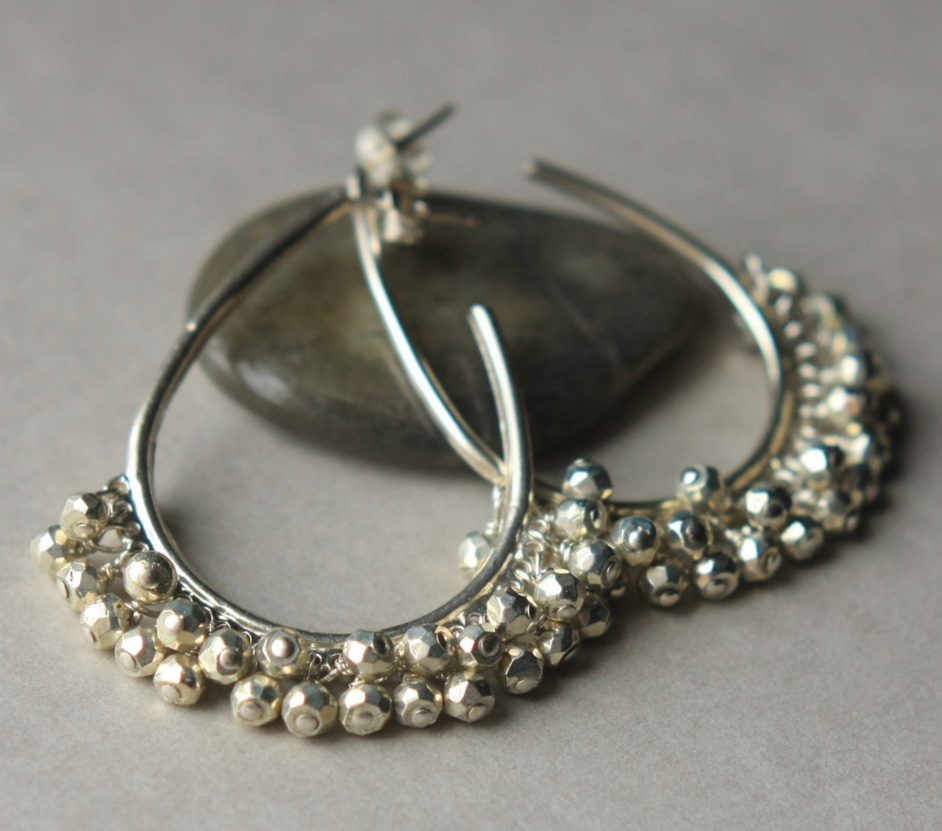 what to get mom for christmas silver earrings