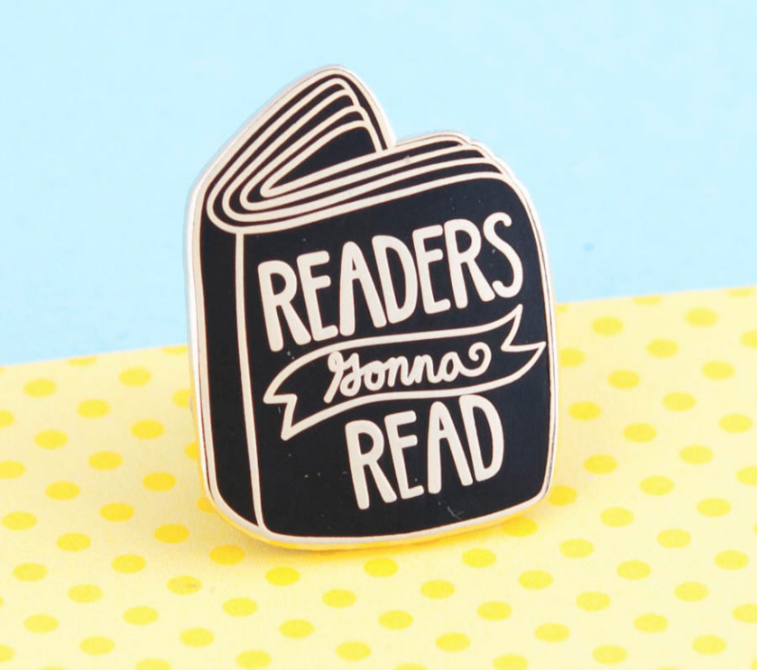 book_enamel_pin