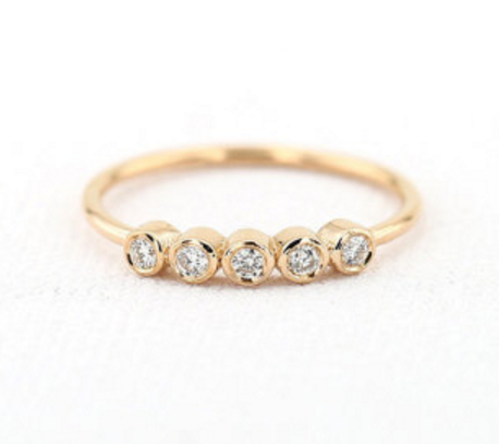 etsy engagement rings gold engagement ring twig engagement ring