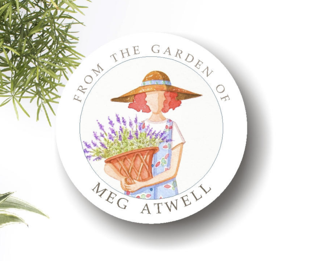 Personalized Garden Labels From the Garden of